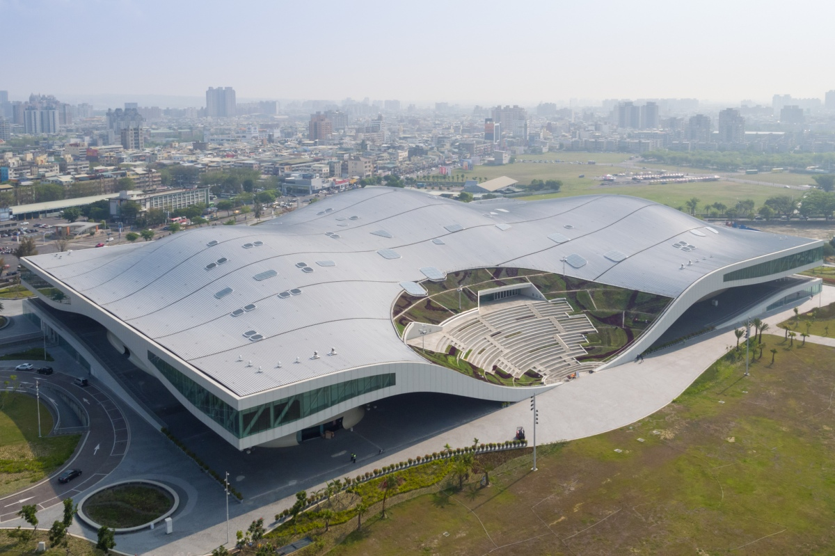 Mecanoo's National Kaohsiung Center for the Arts in Taiwan